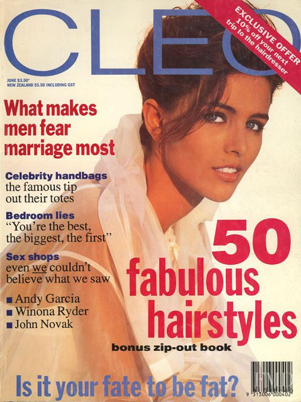 Toneya Bird featured on the CLEO Australia cover from June 1991.