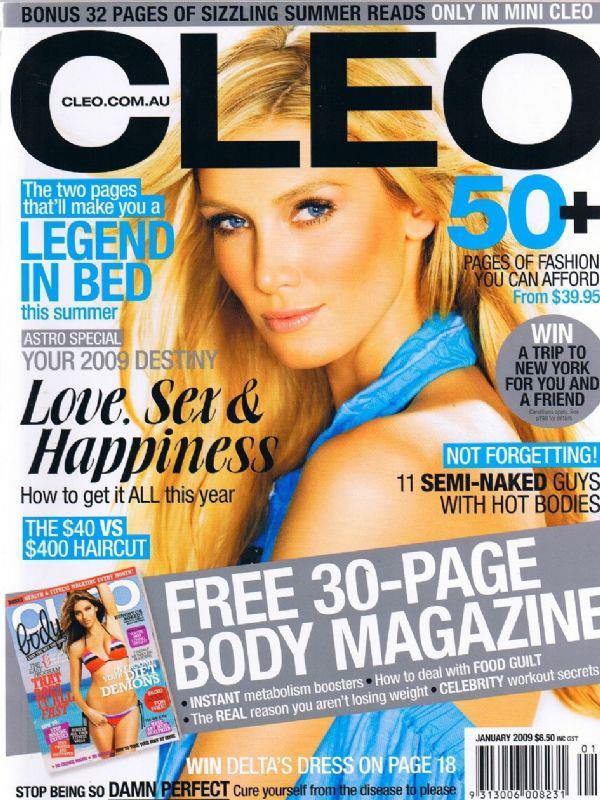 Delta Goodrem's June 2012 cover.