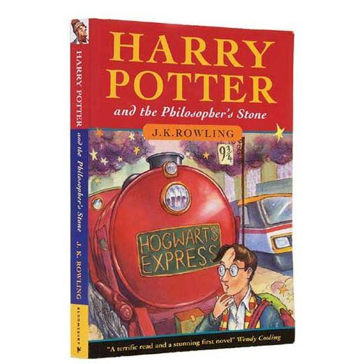 Harry Potter and the Philosopher's Stone first edition hardcover prints are the most valuable of all of the series.