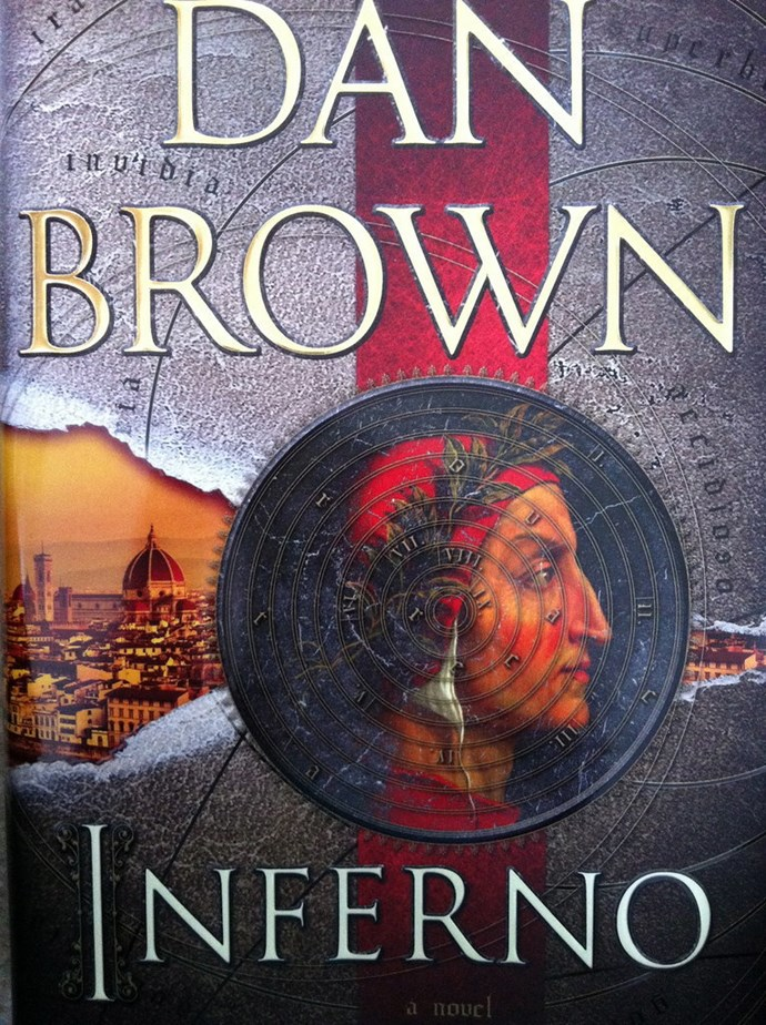 ***Inferno* by Dan Brown** - Tom Hanks is back as Robert Langdon, trying to stop a deadly threat to the world which leads to a labyrinth of riddles from one of Dante's books. Felicity Jones also stars in the flick, with a worldwide scheduled release date of October 13.