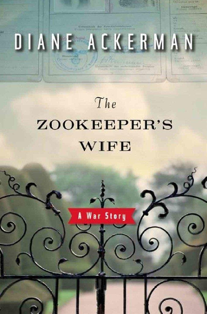 ***The Zookeeper's Wife* by Diane Ackerman** - Jessica Chastain stars in this true-story film about keepers of the Warsaw Zoo who save hundreds of people from the Nazis in World War II.