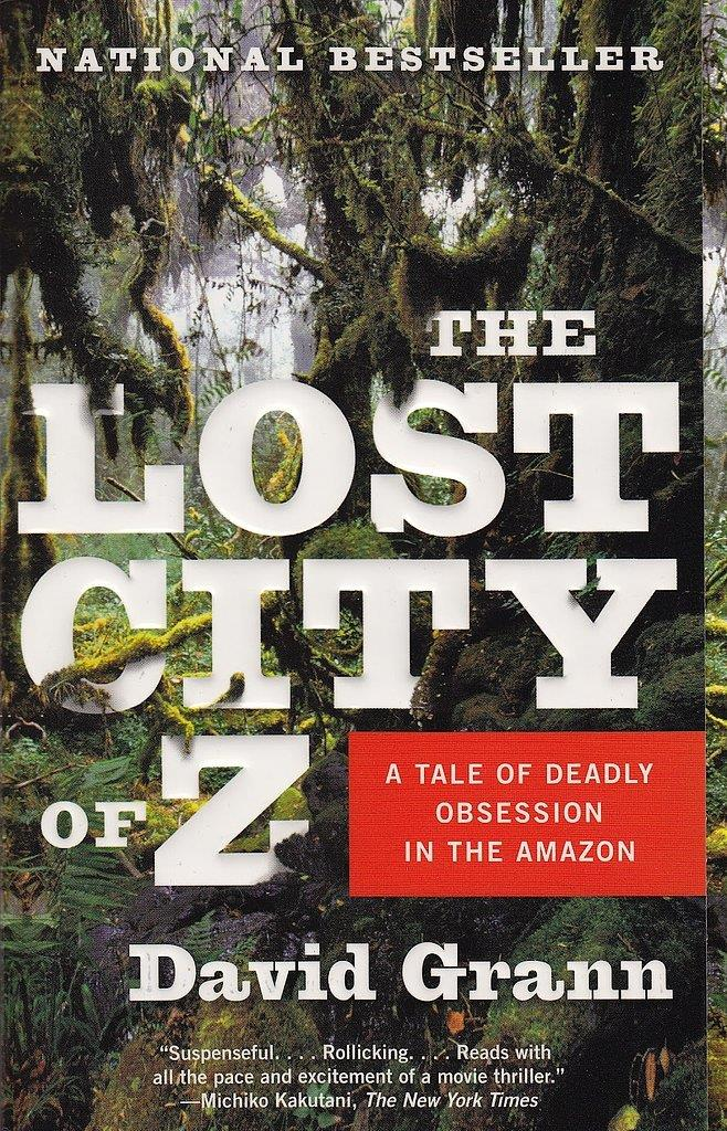 ***The Lost City of Z* by David Grann** - This adventure tells the true tale of how a British explorer got lost in 1925 after going on a hunt for an ancient civilisation in the Amazon. Charlie Hunnam, Robert Pattinson and Sienna Miller have signed on for the film.