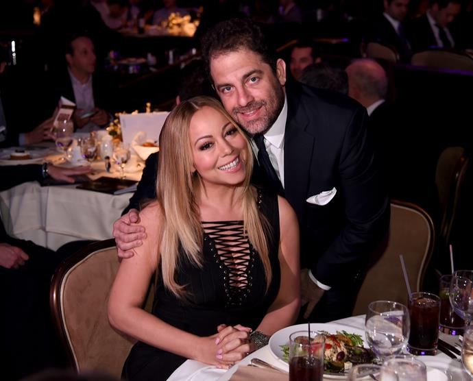 Mariah Carey and Brett Ratner