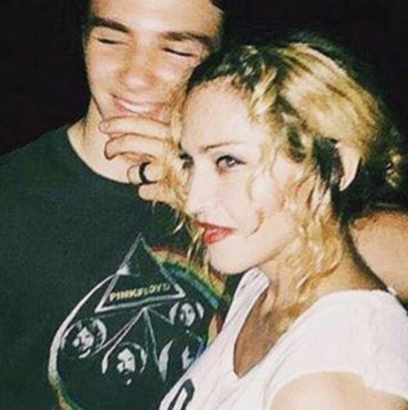 A heartbroken Madonna posted this throwback with Rocco last year.