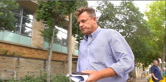 Martin leaving court.