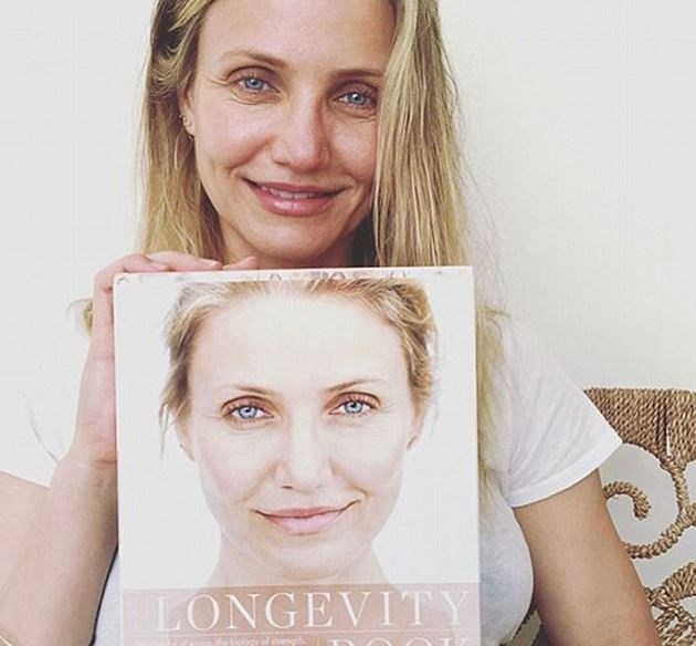 Cameron Diaz's crows' feet creases and blank-canvas face speak to our souls.