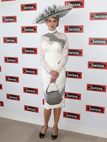 Straight out of My Fair Lady at the 2012 Derby Day.