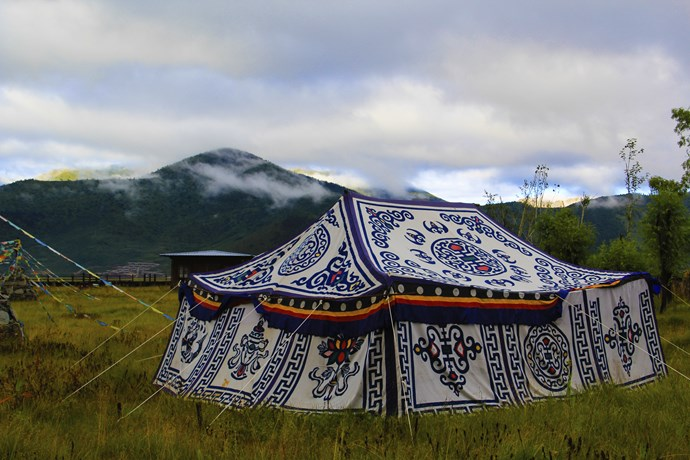 Don't be surprised if a Mongolian tent like this is where you have a business meeting.