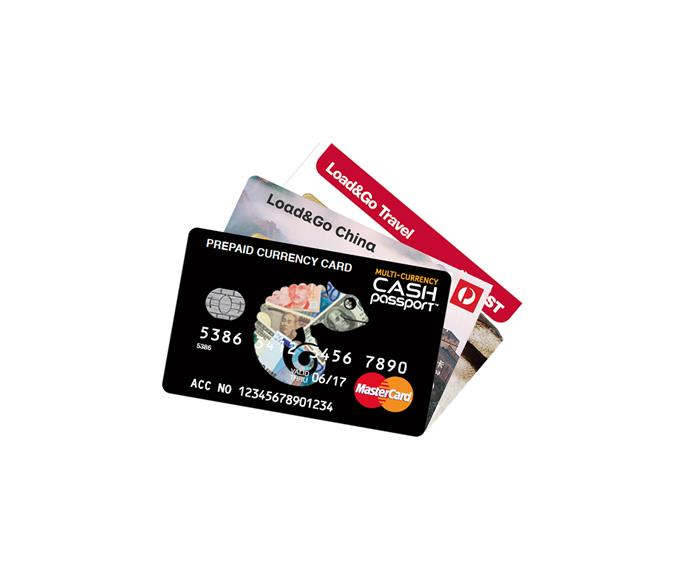 Travel cards available at Australia Post.