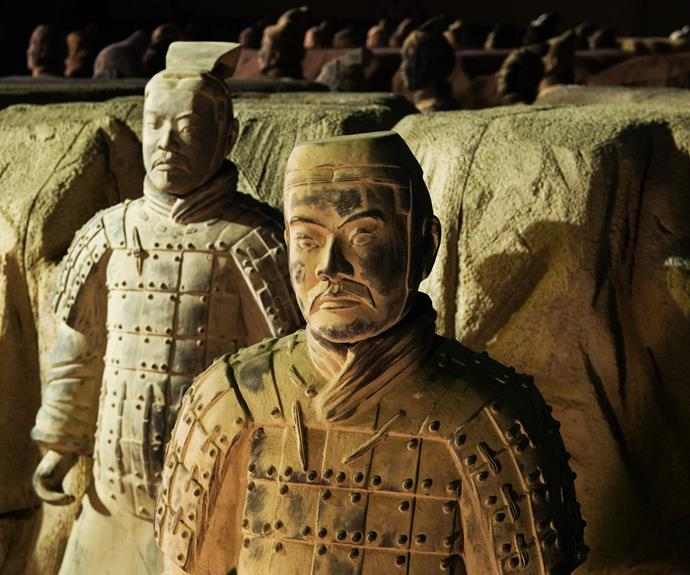 China Xi'an. Home of the Terracotta Army
