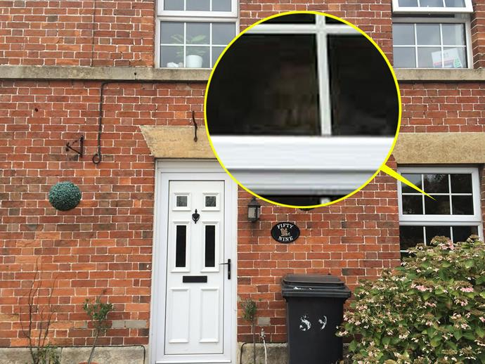 A woman took a photo of her home in Wiltshire, England, but noticed something odd in one of the windows. She now believes the 'old man' in the window is the ghost of Samuel Kent, a man who was involved in a grisly murder in the 1860s.