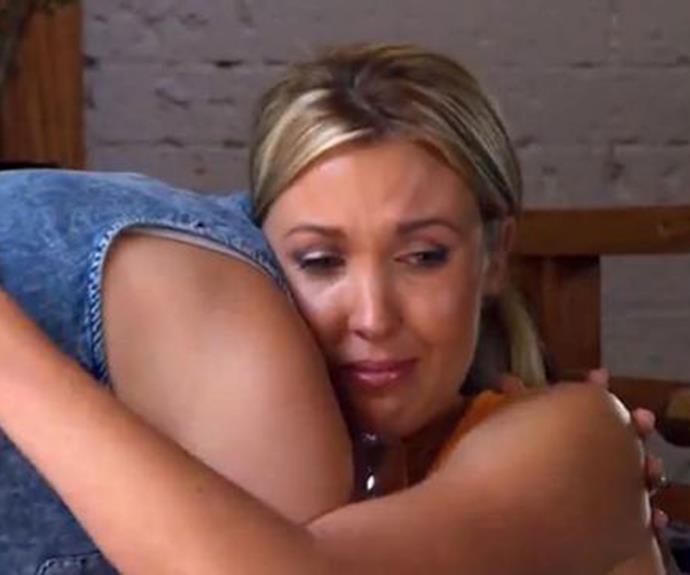 Jackie was devastated