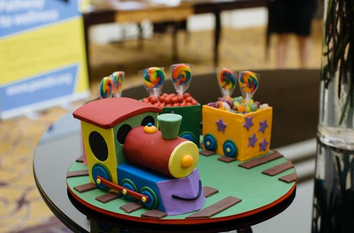 This Choo Choo Train is what kids' birthday cakes are all about: super-cute and tasty to boot!