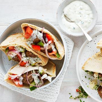 "[Greek meatball pocket](http://www.foodtolove.com.au/recipes/greek-meatball-pocket-18390 target=""_blank"")"