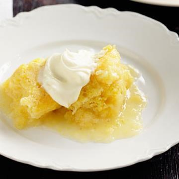 "[Lemon lime polenta self-saucing pudding](http://www.foodtolove.com.au/recipes/lemon-lime-polenta-self-saucing-pudding-14761|target=""_blank"")"