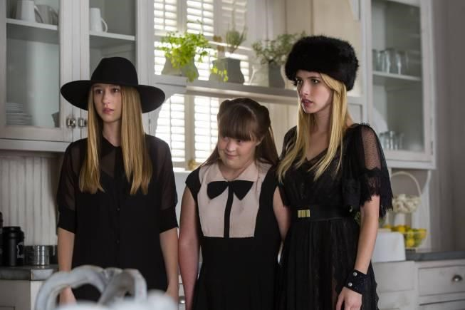 Jamie (middle) in *American Horror Story: Coven*