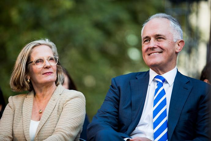 Malcolm and wife Lucy