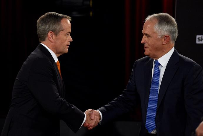 Malcolm and Bill Shorten will go head-to-head at the polls on July 2
