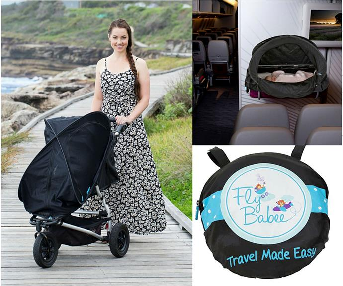 """**CATEGORY: MOST POPULAR PRODUCT FOR BABY OR NURSERY** *Fly Babee Sleep-Easy Sun Cover* [Fly Babee](http://flybabee.com.au/