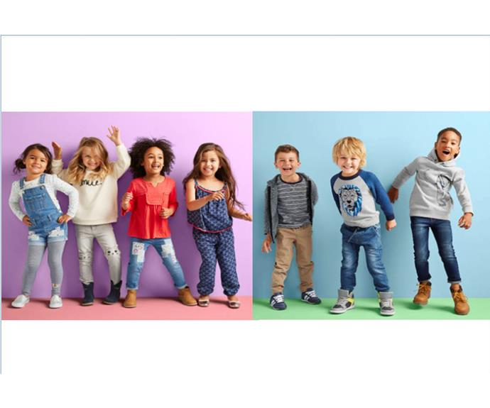 """**CATEGORY: MOST POPULAR KIDS' FASHION BRAND** *Target* Well-known and much-loved, [Target](http://www.target.com.au/