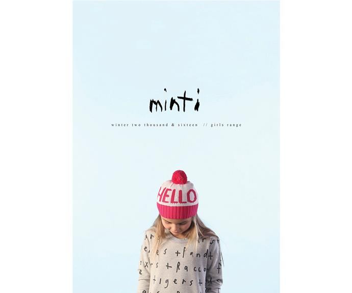 """**CATEGORY: MOST POPULAR KIDS' FASHION BRAND** *Minti* Designed in Melbourne, [Minti](http://www.iloveminti.com/
