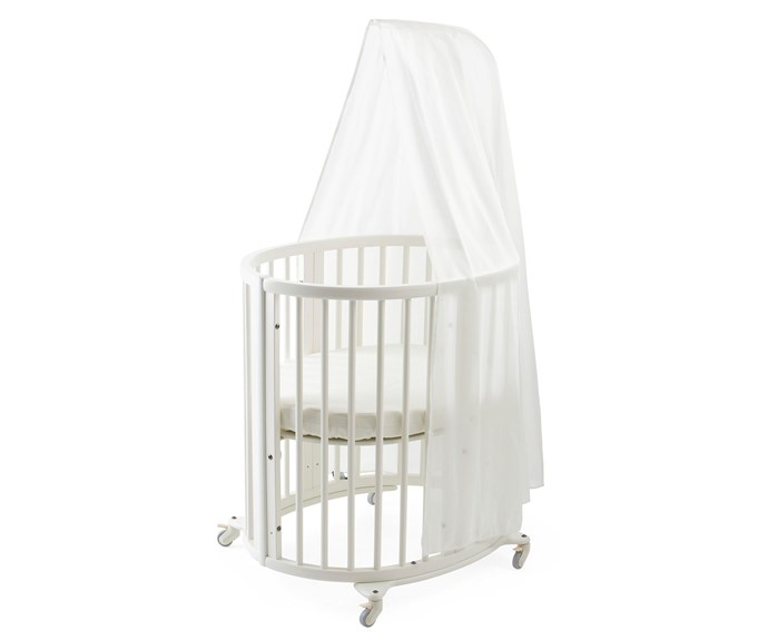 "CATEGORY: MOST POPULAR COT The [Stokke Sleepi Mini](http://www.exquira.com.au/|target=""_blank""), RRP $1079 has a distinctive oval shape that provides your baby with a sense of security by creating a cosy nest-like environment. It has adjustable height positions as well as the ability to grow with your child. The lockable wheels make it easy to move from room to room."