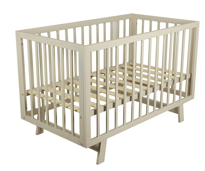 "CATEGORY: MOST POPULAR COT The [Bebe Care Euro Cot in Grey](http://www.cnpbrands.com.au/|target=""_blank""), RRP $379.99 is a perfect and safe choice for your toddler. Made from solid timber with slat side, the cot features position adjustable base height with high and low modes."