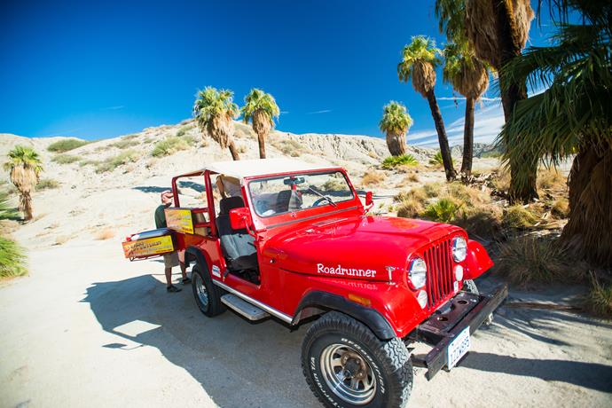 Cruise the San Andreas Fault in style.