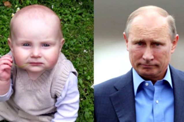 Russian president Vladimir Putin