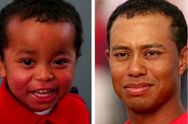 Famous golfer Tiger Woods