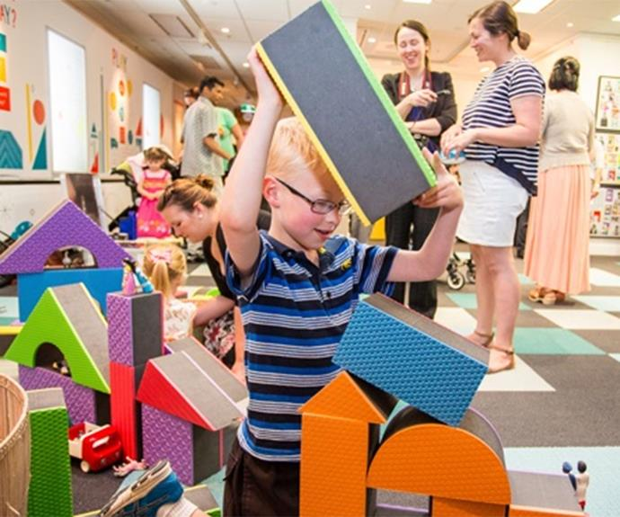 The Museum of Australian Democracy at Old Parliament House's kid's area