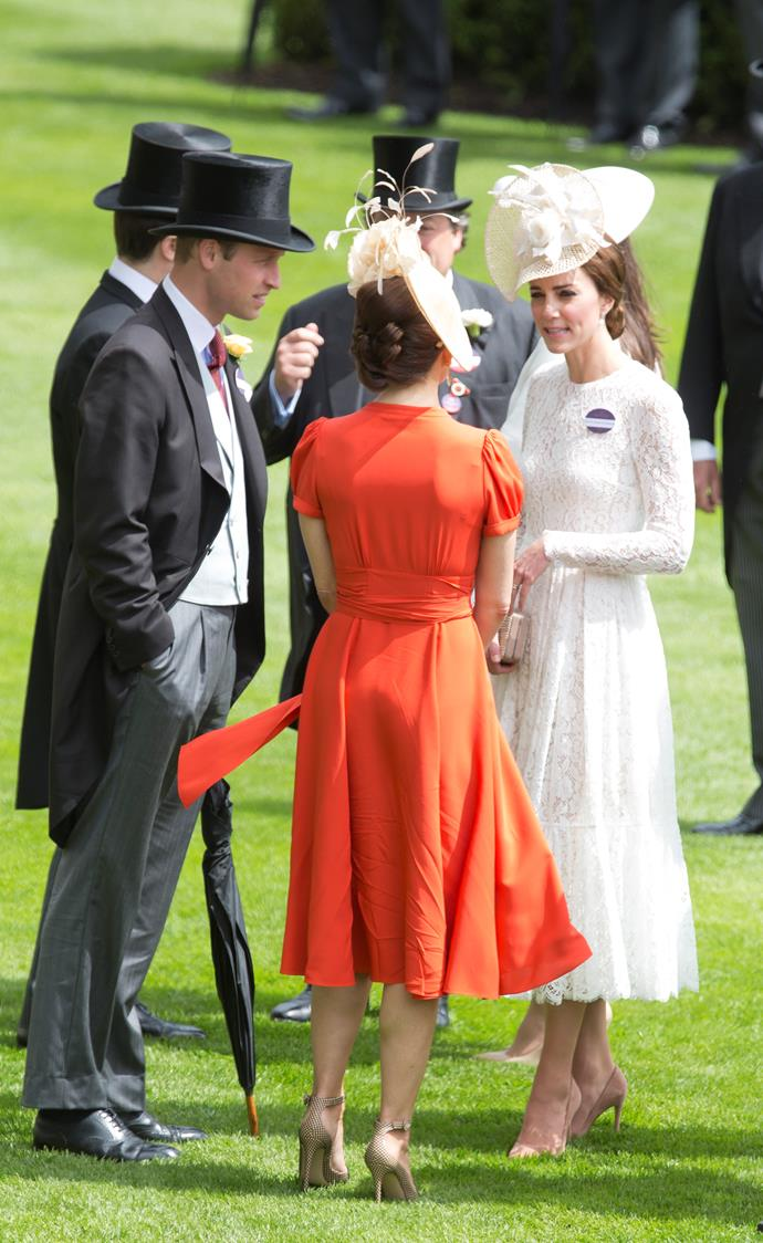 Princess Mary and Duchess Kate (Day 2)