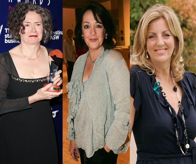 Judith Lucy, Wendy Harmer and Jean Kittson.