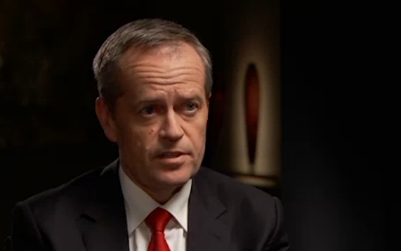 Bill Shorten was grilled by Leigh Sales