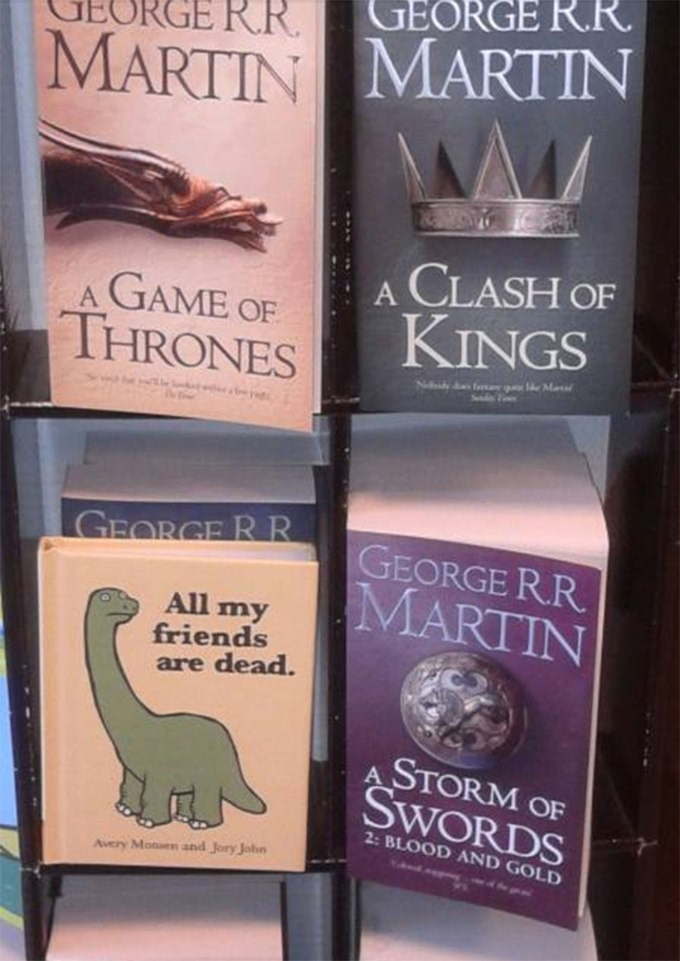 Sums up the books accurately.