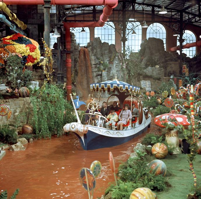 Who didn't dream of a chocolate river?