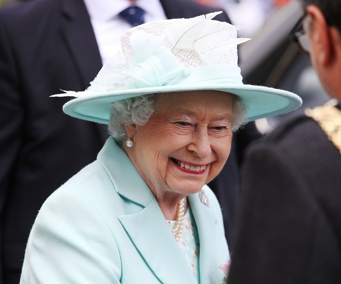 The queen looked thrilled to be back in her beloved Scotland.