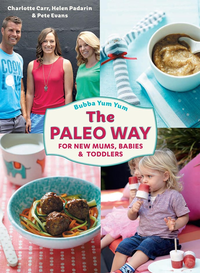 Pete Evans' second book, the controversial *Bubba Yum Yum: The Paleo Way.*
