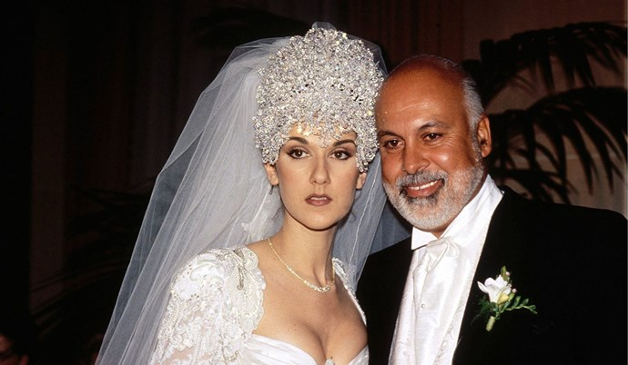 The couple married in 1994, when Celine was 26-years-old.