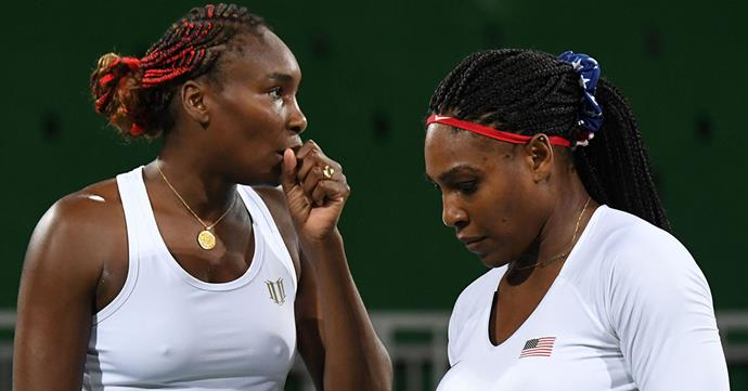 Serena is all class: Tennis stars Serena and Venus Williams know a thing or two about sibling rivalry.