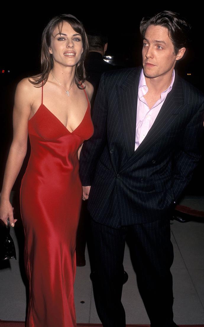 Hugh Grant and Liz Hurley.