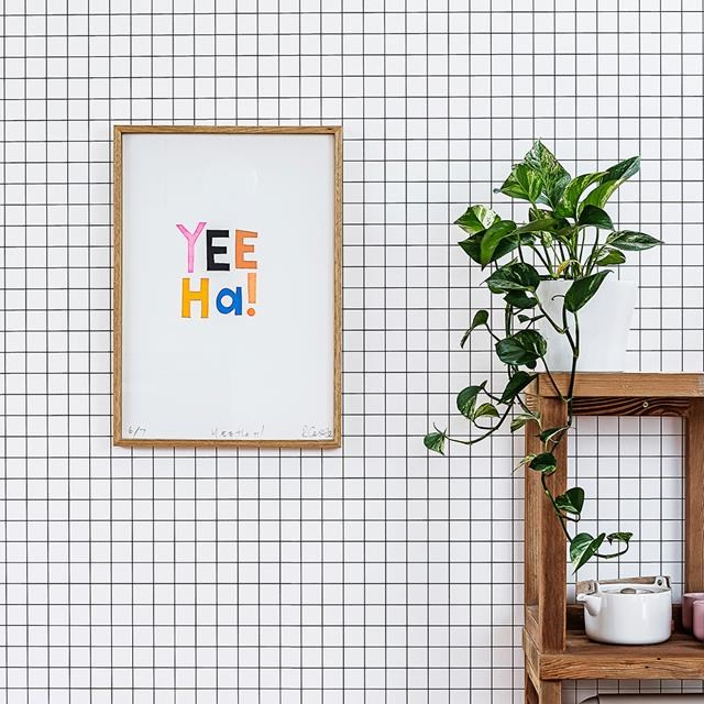 """Devil's ivy brings the jungle vibes to [this cute townhouse in Sydney.](http://www.homestolove.com.au/amys-playful-family-townhouse-2643