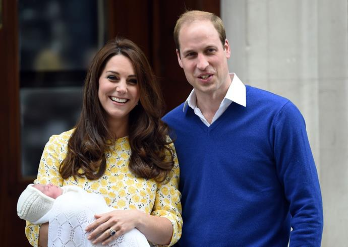 The new parents introduced their little princess to the world in May 2015. The Princess was born at 8.34am local time in St Mary's hospital. She was the first princess born into royal succession in 25 years.