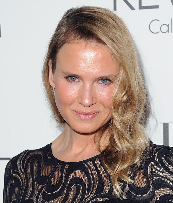 The 47-year-old actress says men's looks aren't under anywhere near as much scrutiny as women's