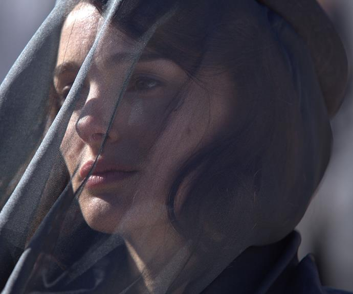 Natalie Portman transforms into a grieving Jackie O in a story that follows the former First Lady during the days after her husband was shot.