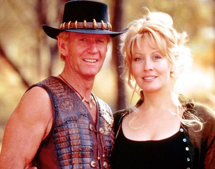 Paul and Linda making the Crocodile Dundee franchise.