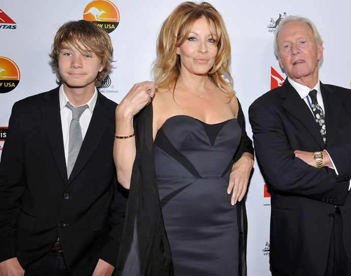 Hoges. Linda and their son Chance in 2013, a year before they divorced.