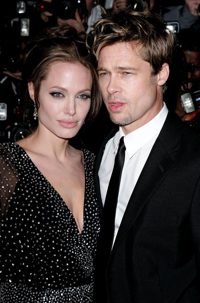 **December 2006** The couple went red carpet official at the premiere of Angelina's movie, *The Good Shepherd*.
