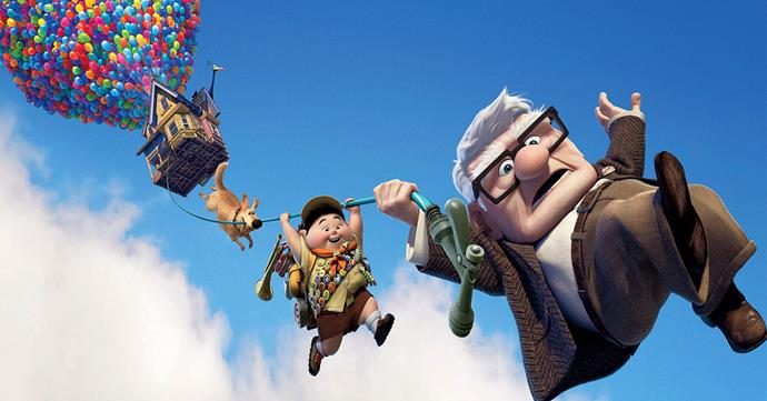 Disney Pixar film, *UP*.