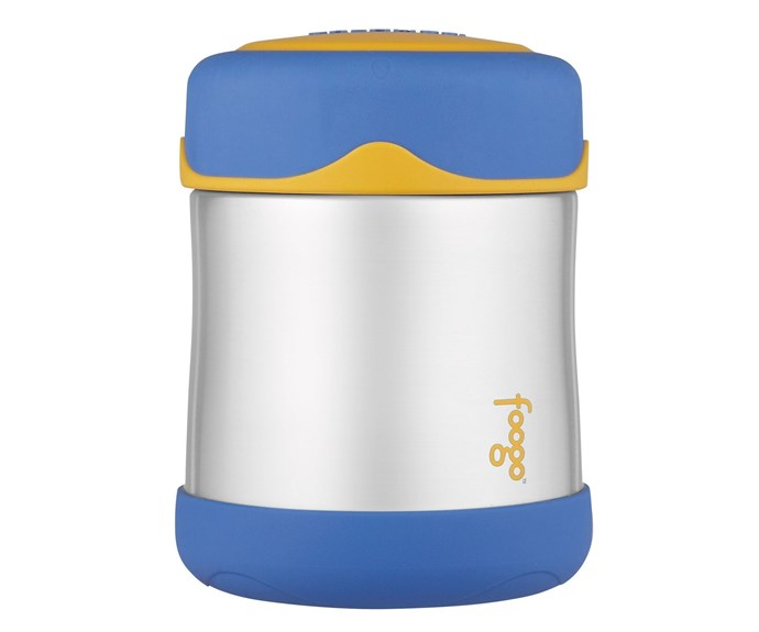"""An extension of the 110-year-old genuine Thermos brand, the Foogo range focuses on infant feeding for busy mums and bubs at home or on the go. The [Thermos Foogo Stainless Steel Vacuum Insulated Food Jar](http://www.thermos.com.au/